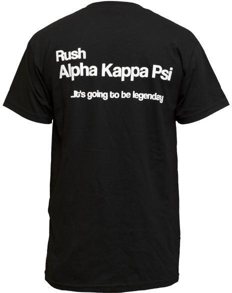 Alpha Kappa Psi Rush Tee-gallery-Adam Block Design