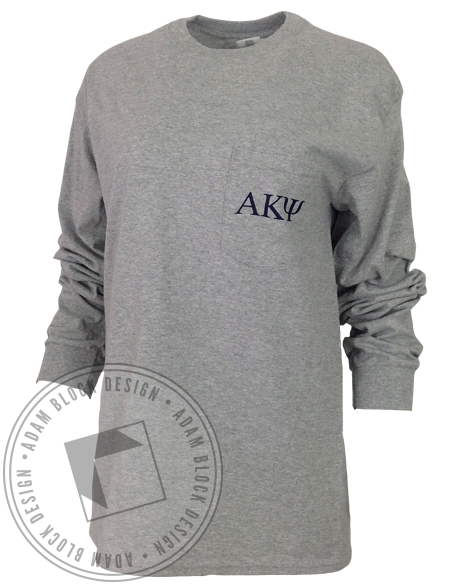 Alpha Kappa Psi Viking Longsleeve-gallery-Adam Block Design