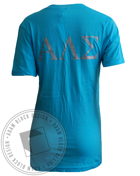 Alpha Lambda Sigma Tiffany V-neck-Adam Block Design