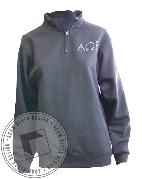 Alpha Omega Epsilon Bow Pullover-gallery-Adam Block Design