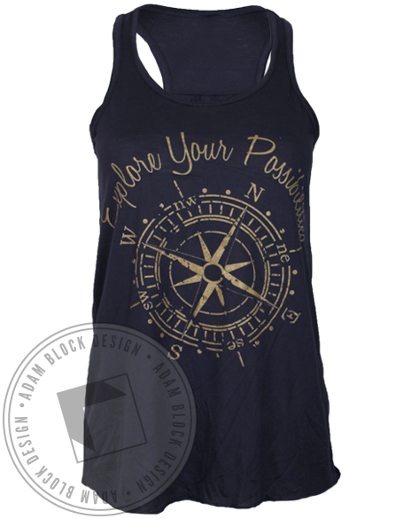 Alpha Omega Epsilon Explore Your Possibilities Tank Top-gallery-Adam Block Design