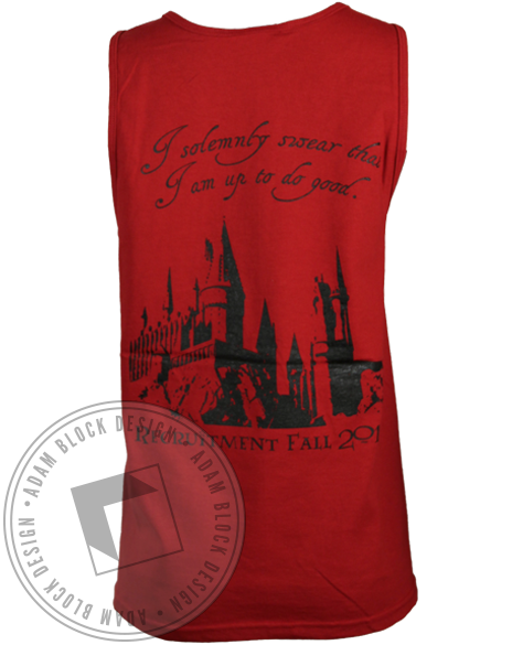 Alpha Omega Epsilon Hogwarts Tank Top-gallery-Adam Block Design