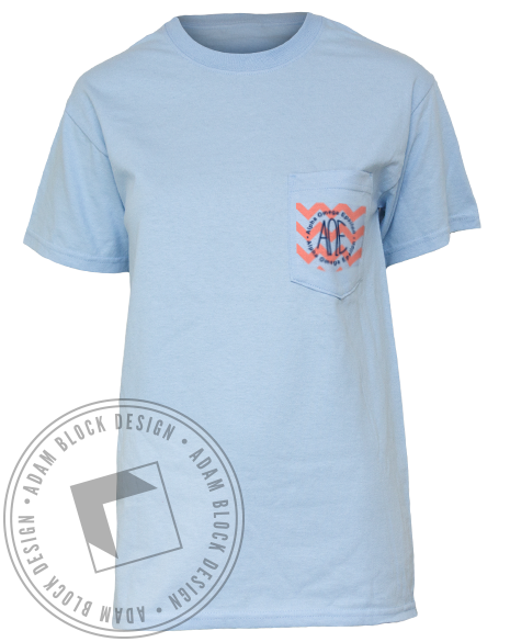 Alpha Omega Epsilon Part of the Family Tee-Adam Block Design