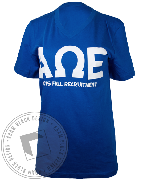 Alpha Omega Epsilon Places You'll Go Tshirt-gallery-Adam Block Design