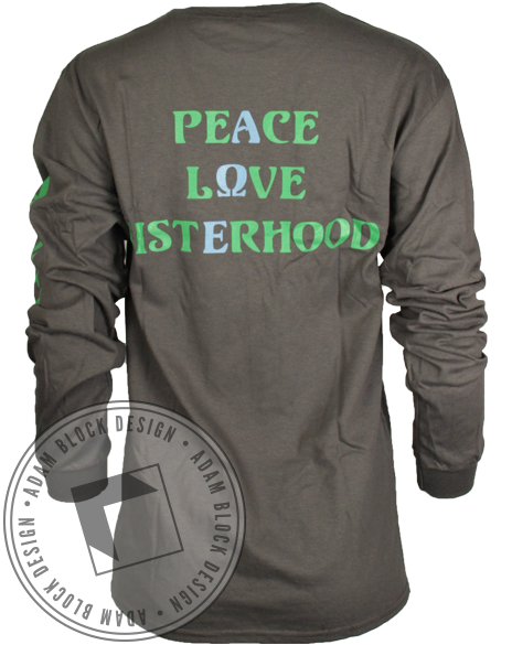 Alpha Omega Epsilon Sisterhood Long Sleeve-gallery-Adam Block Design