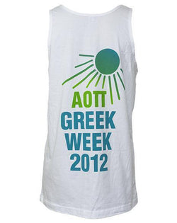 Alpha Omicron Pi Greek Week Win Tank Top-Adam Block Design