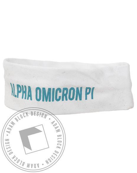 Alpha Omicron Pi Headband-gallery-Adam Block Design