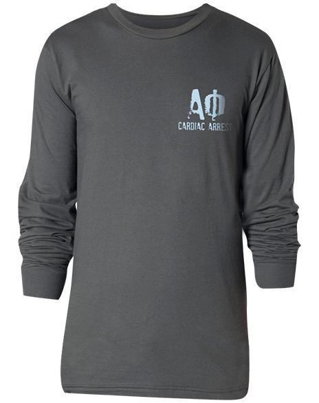 Alpha Phi Cardiac Arrest Long Sleeve-Adam Block Design