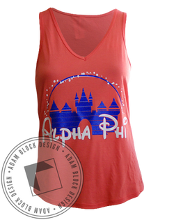 Alpha Phi Castle Tank-Adam Block Design