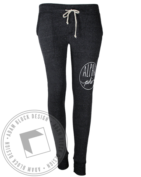 Alpha Phi Circle Joggers-Adam Block Design