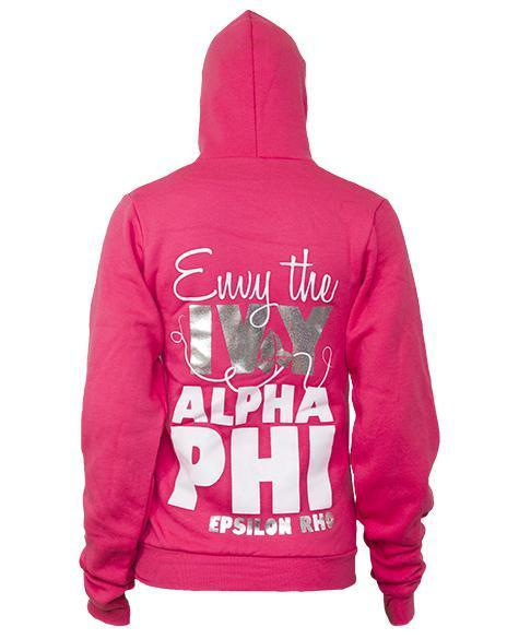 Alpha Phi Envy the Ivy Hoody-gallery-Adam Block Design