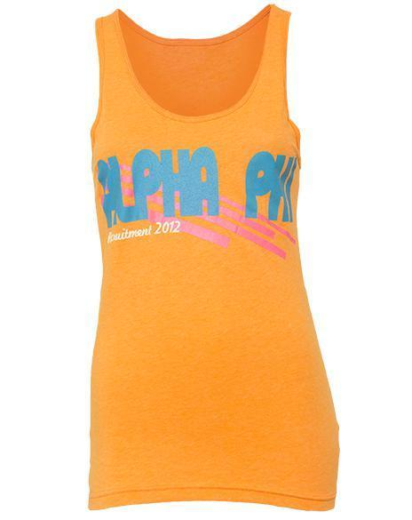 Alpha Phi Fall in Love Recruitment Tank-Adam Block Design