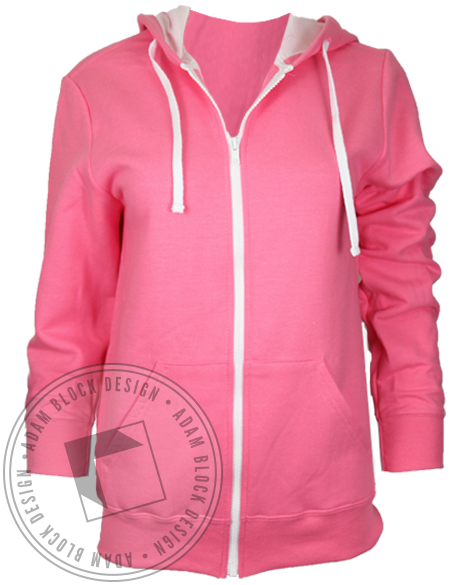 Alpha Phi Floral Monogram Hoodie Sweatshirt-Adam Block Design