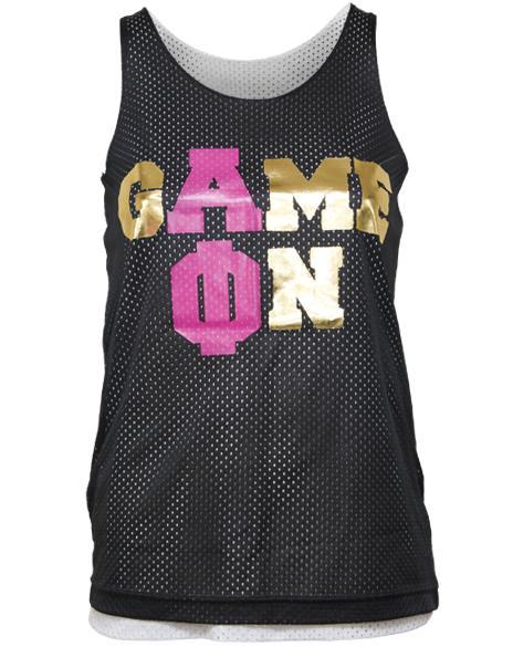 Alpha Phi Game On Jersey-Adam Block Design
