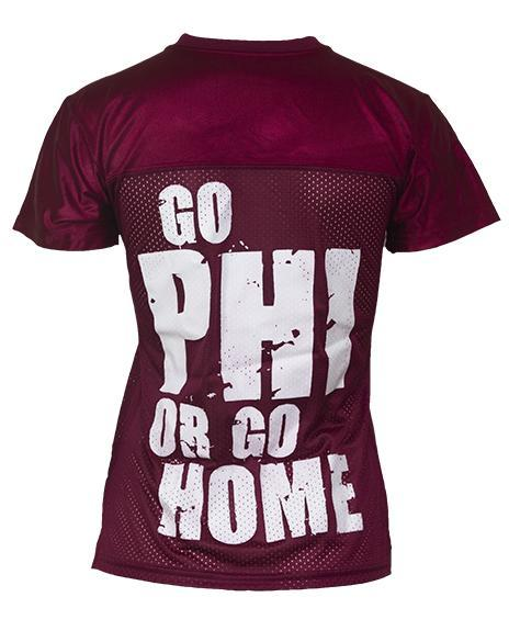 Alpha Phi Go Phi Or Go Home Jersey-Adam Block Design