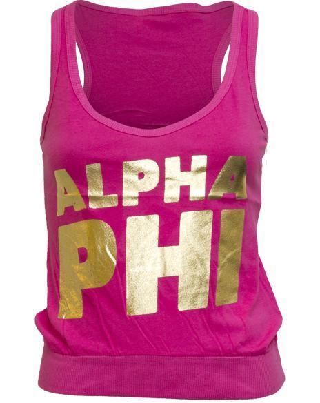 Alpha Phi Heart Bid Night Tank-gallery-Adam Block Design