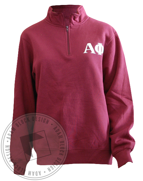 Alpha Phi Homecoming Sweatshirt Pullover-Adam Block Design