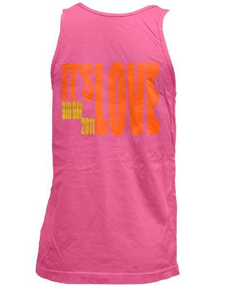 Alpha Phi It's Love Tank-Adam Block Design