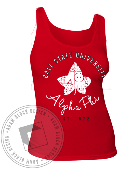 Alpha Phi Ivy 1872 Tank-gallery-Adam Block Design