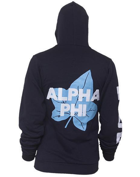 Alpha Phi Ivy Hoody-Adam Block Design