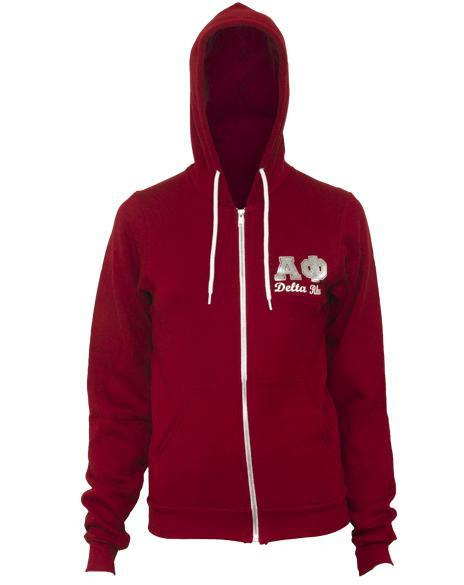 Alpha Phi Ivy League Hoody-gallery-Adam Block Design