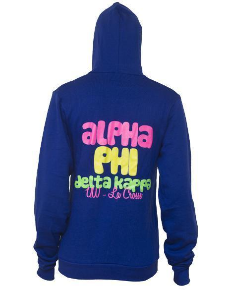 Alpha Phi Love Hoody-Adam Block Design