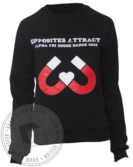 Alpha Phi Magnet Sweatshirt-gallery-Adam Block Design