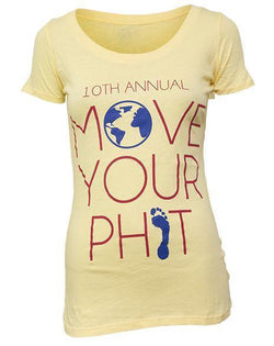 Alpha Phi Move Your Phit Scoop Tee Shirt-Adam Block Design