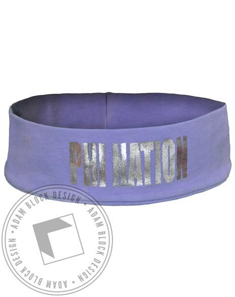 Alpha Phi Nation Headband-gallery-Adam Block Design