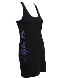 Alpha Phi Neon Dress-Adam Block Design