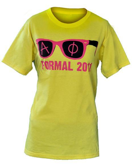 Alpha Phi Phiver Formal Tee-Adam Block Design
