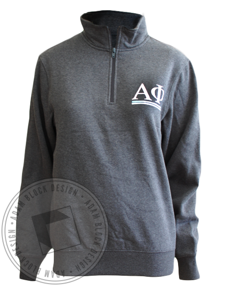 Alpha Phi Sweatshirt Pullover-Adam Block Design