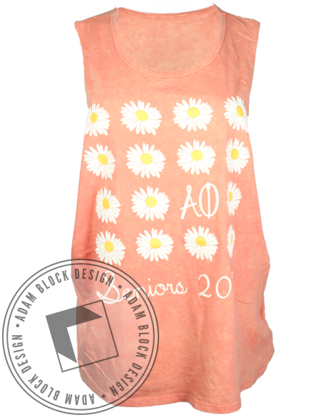 Alpha Phi Senior Tank-Adam Block Design