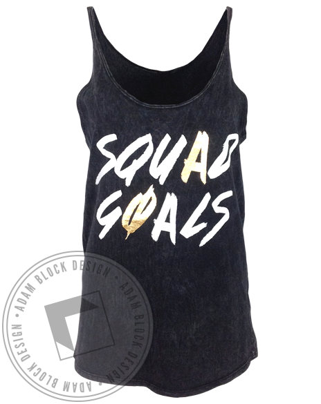 Alpha Phi Squad Goals Tank-Adam Block Design