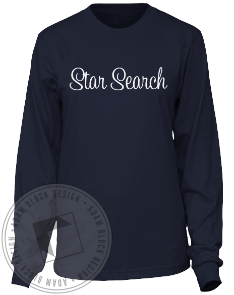 Alpha Phi Star Search Longsleeve-gallery-Adam Block Design