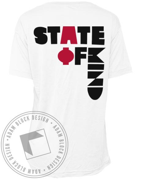 Alpha Phi State Of Mind Tee-Adam Block Design
