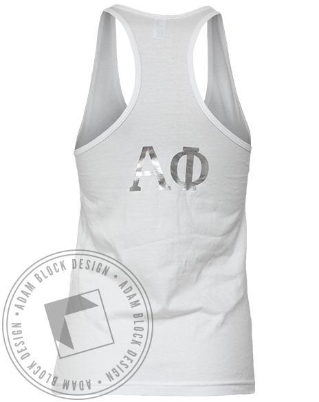 Alpha Phi Styled Tank-gallery-Adam Block Design