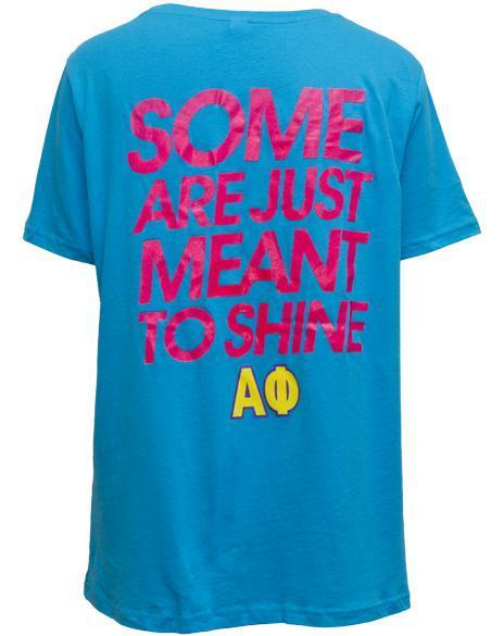 Alpha Phi Sunglasses Tee-Adam Block Design