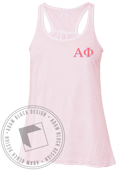 Alpha Phi The Places Tank-Adam Block Design