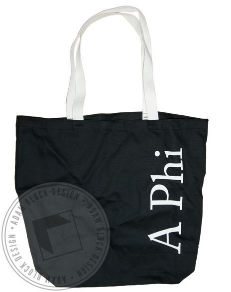 Alpha Phi Vines Tote-Adam Block Design