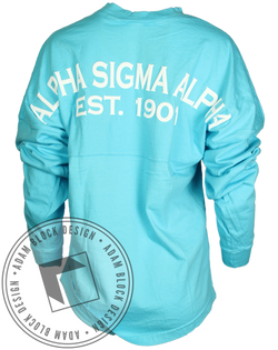 Alpha Sigma Alpha 1901 Derby Jersey-Adam Block Design