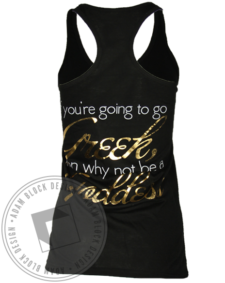 Alpha Sigma Alpha Greek Goddess Tank Top-gallery-Adam Block Design
