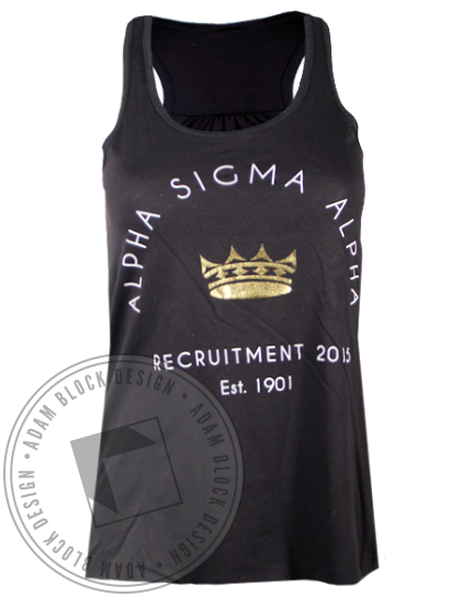 Alpha Sigma Alpha Home Tank Top-gallery-Adam Block Design