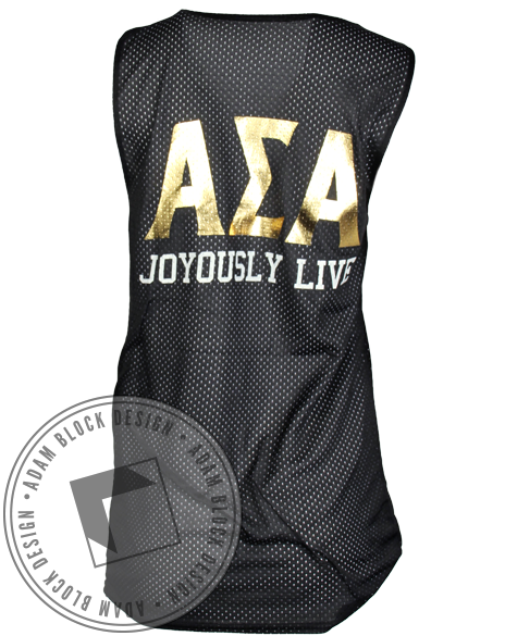 Alpha Sigma Alpha Make It Reign Jersey-Adam Block Design