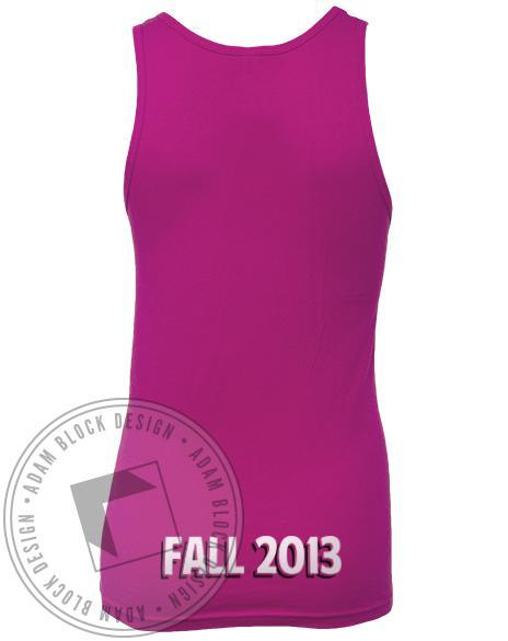 Alpha Sigma Alpha We Wear Pink Tank-Adam Block Design
