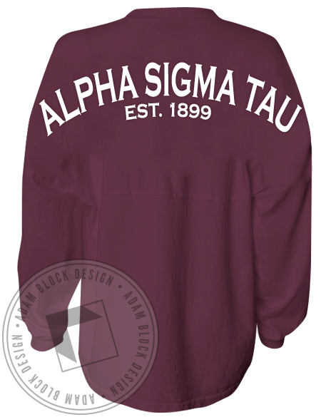 Alpha Sigma Tau 1899 Spirit Jersey-gallery-Adam Block Design