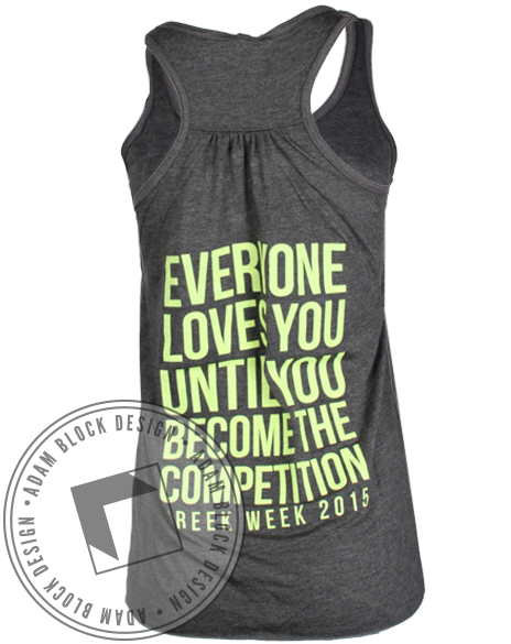 Alpha Sigma Tau Greek Week Tank-Adam Block Design
