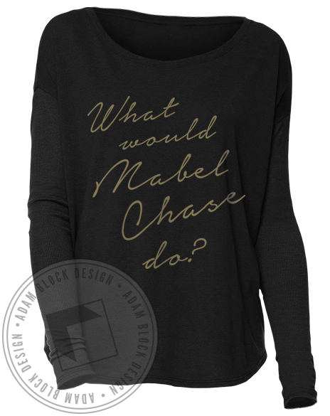 Alpha Sigma Tau Mabel Longsleeve-gallery-Adam Block Design
