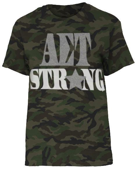 Alpha Sigma Tau Recruitment Camoflage Shirt-Adam Block Design