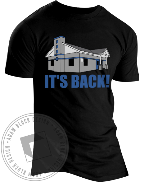 Alpha Tau Omega It's Back Tee-Adam Block Design